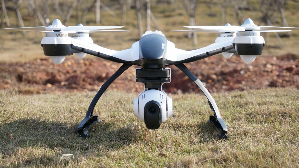 The Yuneec Q500 Typhoon Quadcopter Drone